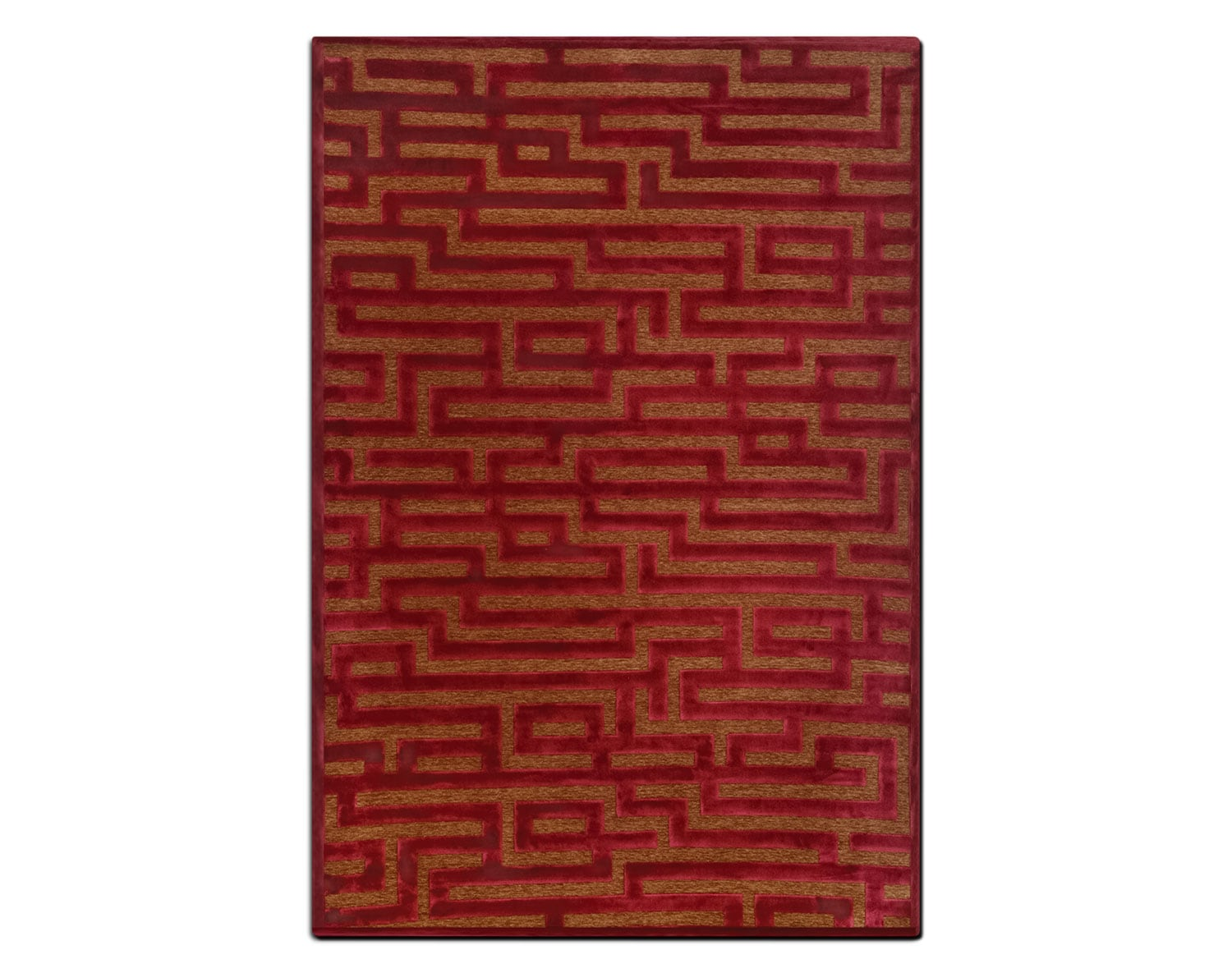 The Napa Collection - Red and Brown