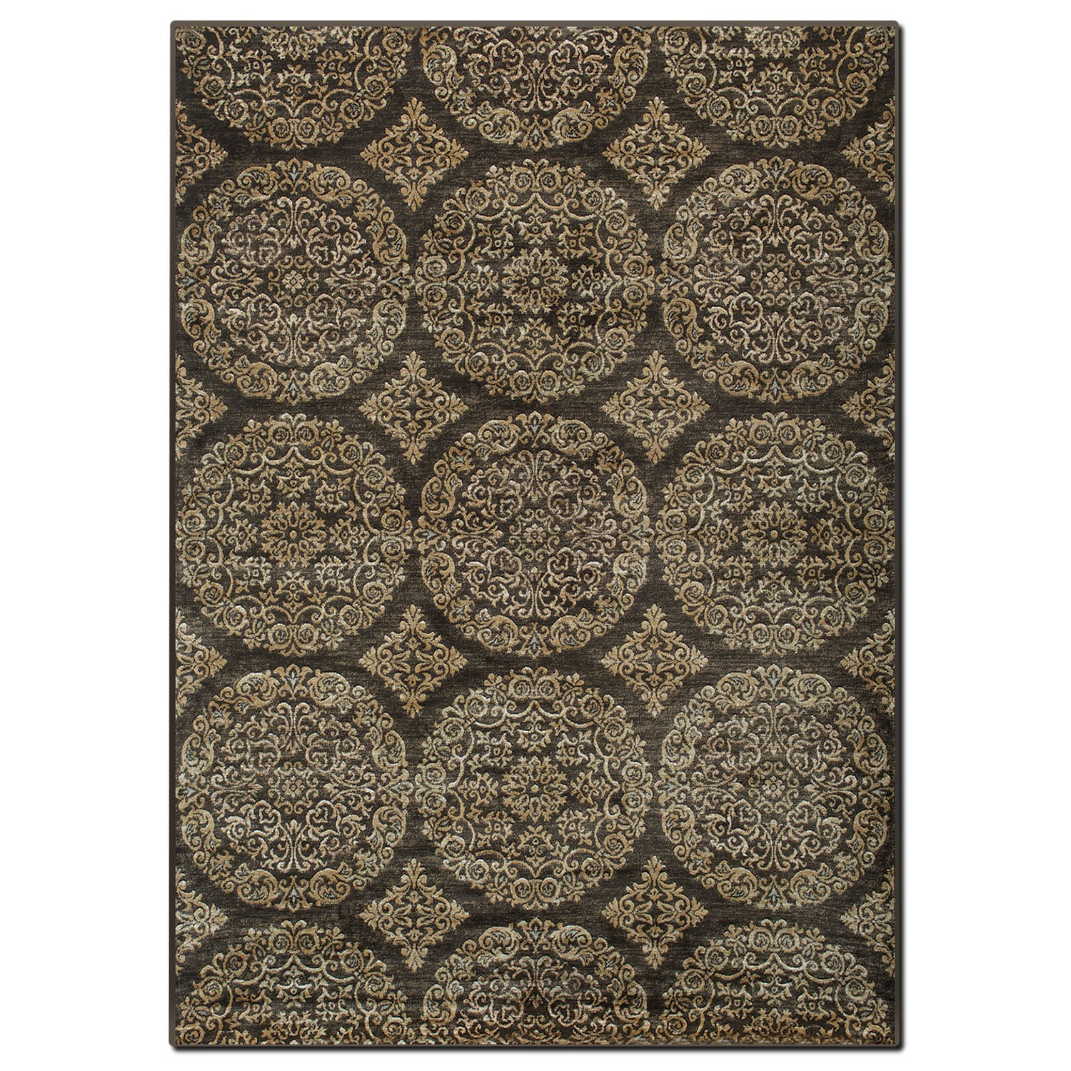 Sonoma 5' x 8' Area Rug - Brown