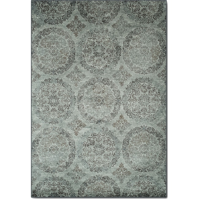 Rugs - Sonoma 8' x 10' Area Rug - Beige and Light Blue