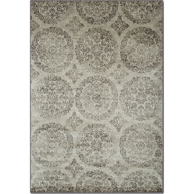 Rugs - Sonoma 5' x 8' Area Rug - Beige and Brown