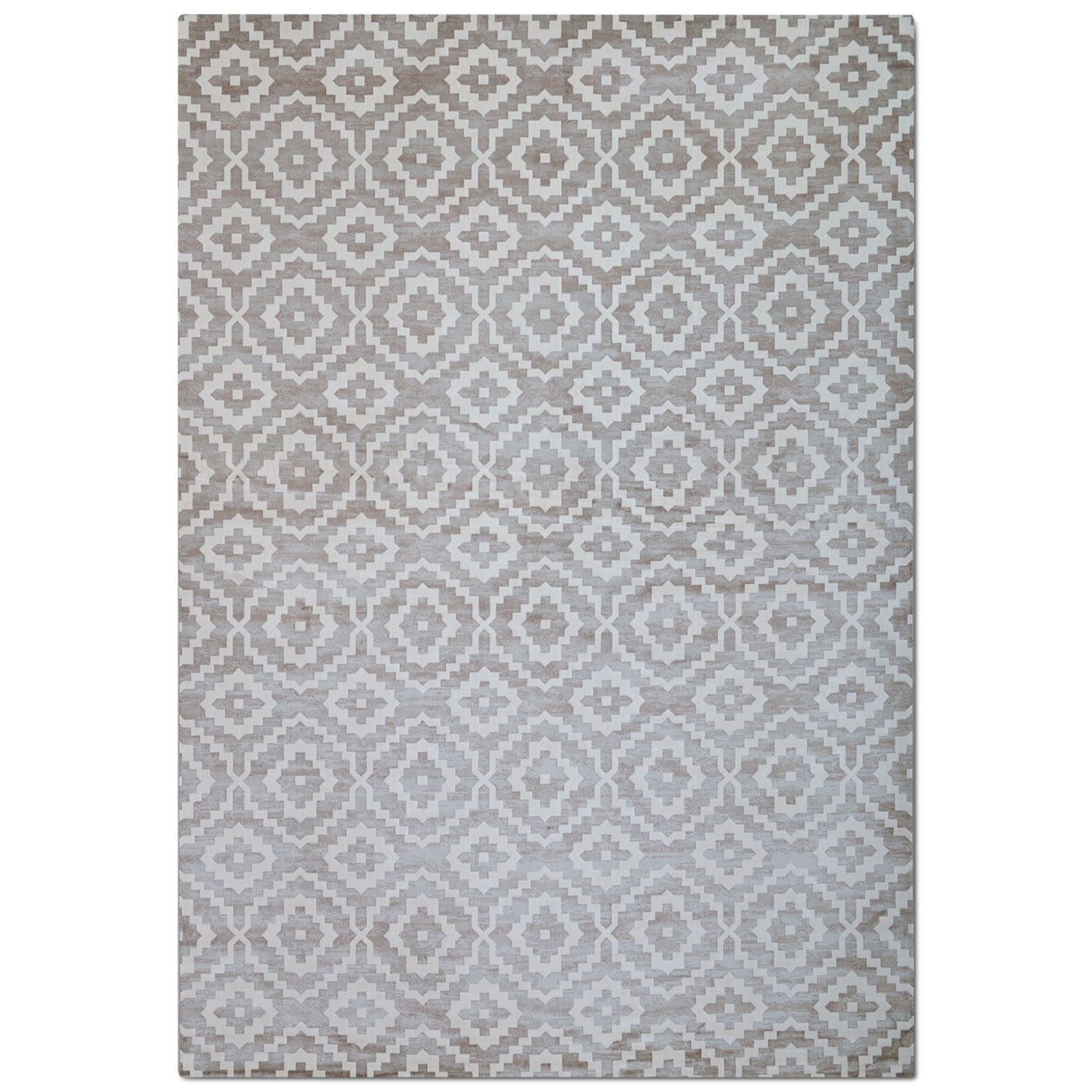Rugs - Sonoma 5' x 8' Area Rug - Silver
