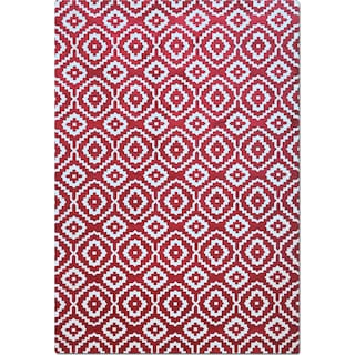 Sonoma 5' x 8' Area Rug - Red and White