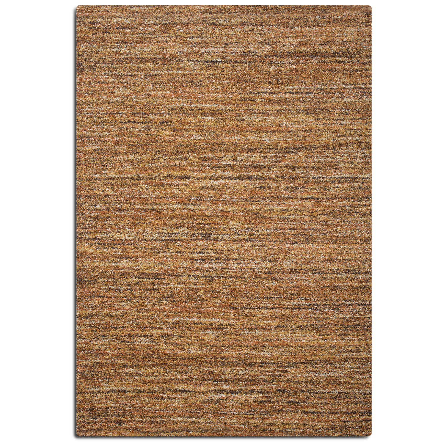 Granada 8' x 10' Area Rug - Rust and Brown