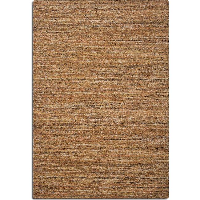 Rugs - Granada Area Rug - Rust and Brown