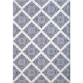 The Sonoma Collection - Navy and White Country