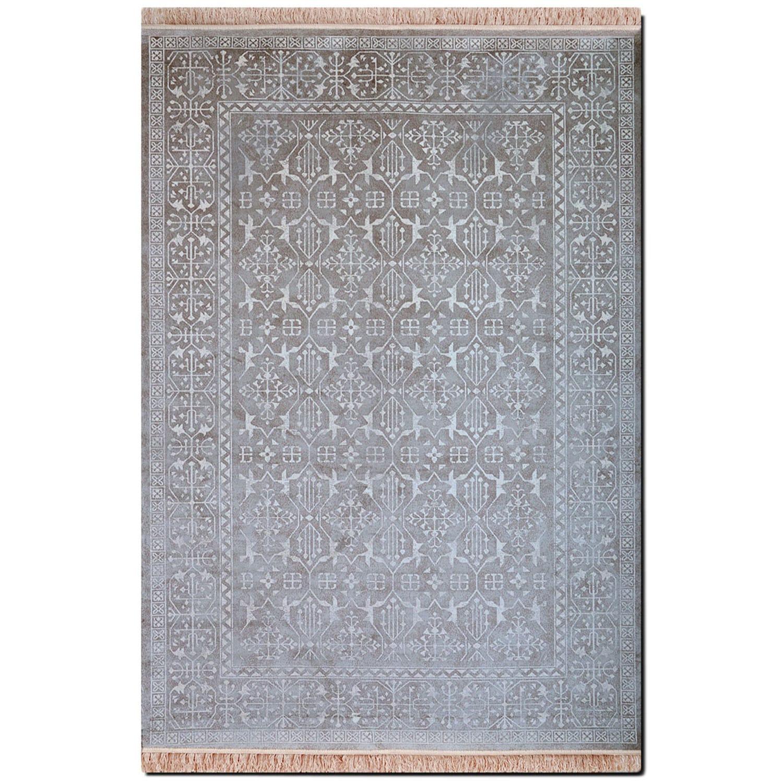 Rugs - Sonoma 5' x 8' Area Rug - Silver Vintage