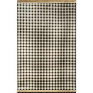 Sonoma 8' x 10' Area Rug - Black and White