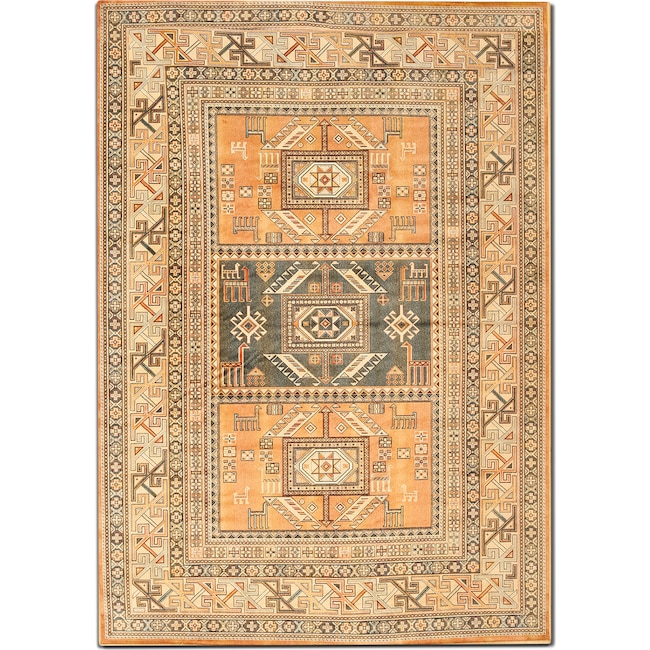 Rugs - Sonoma 8' x 10' Area Rug - Aqua and Copper