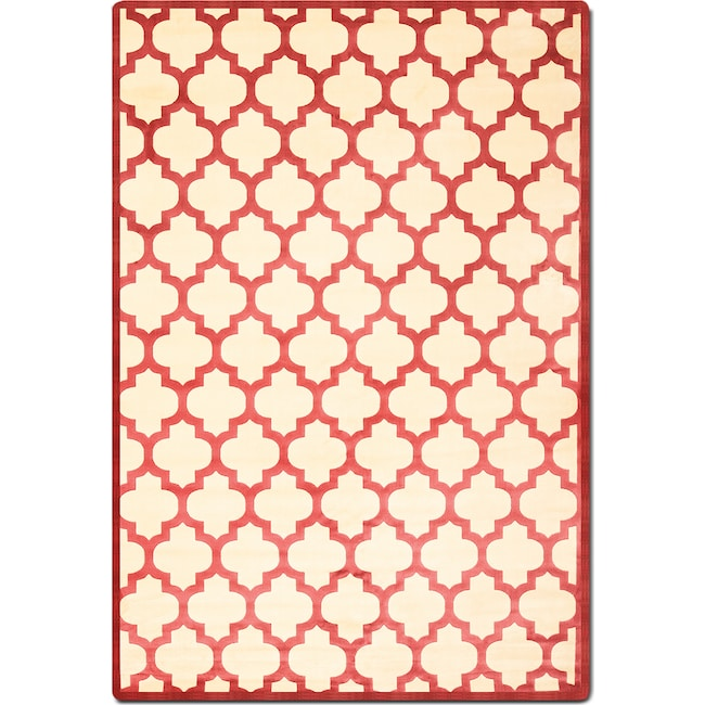 Rugs - Sonoma 5' x 8' Area Rug - Cranberry
