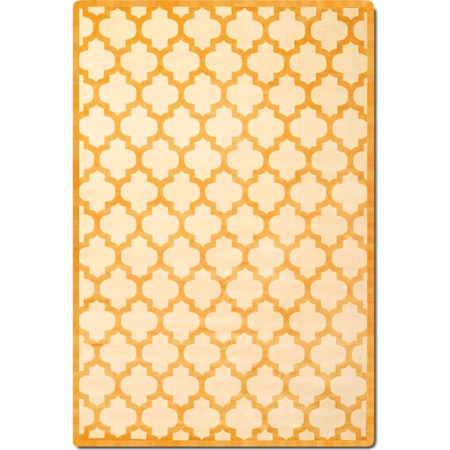 Rugs - Sonoma 5' x 8' Area Rug - Tangerine