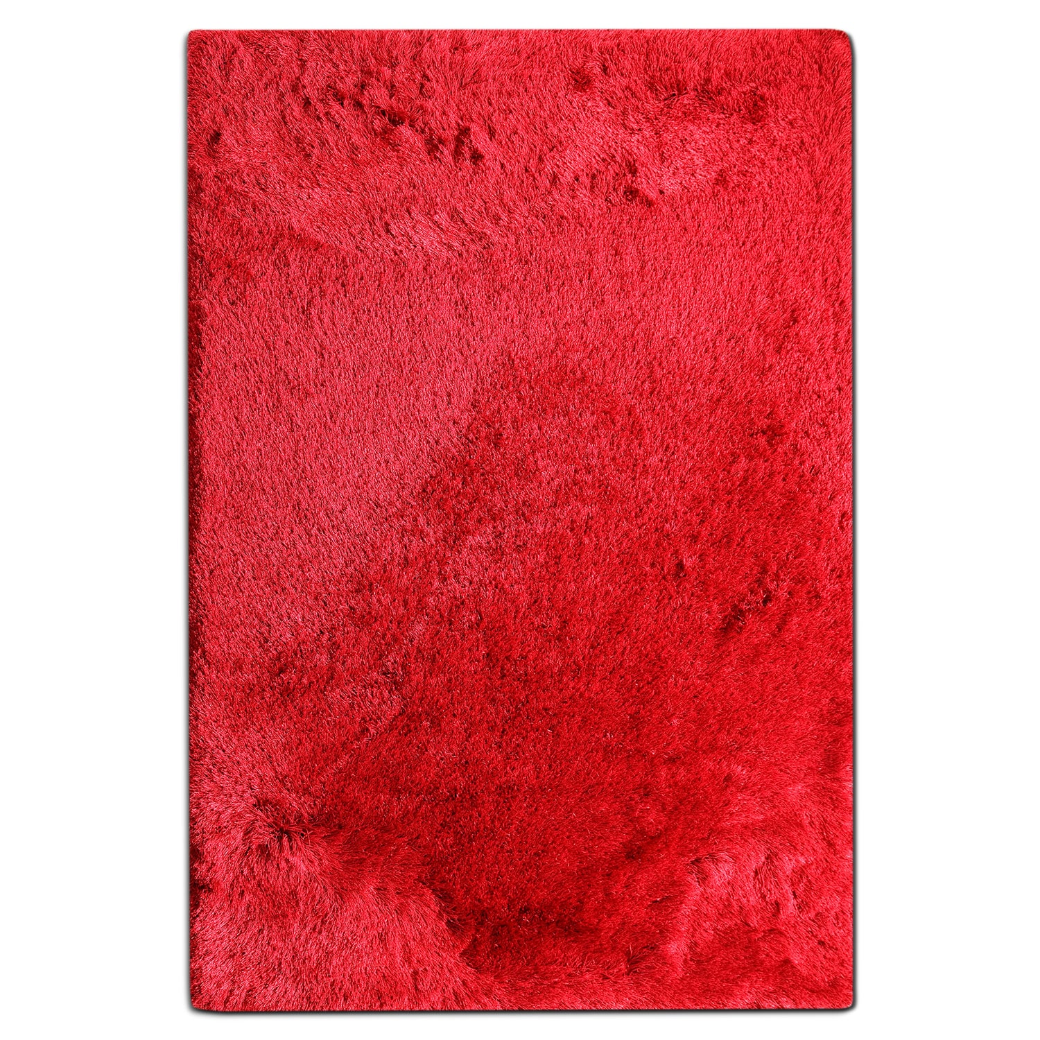 Rugs - Luxe 8' x 10' Area Rug - Ruby