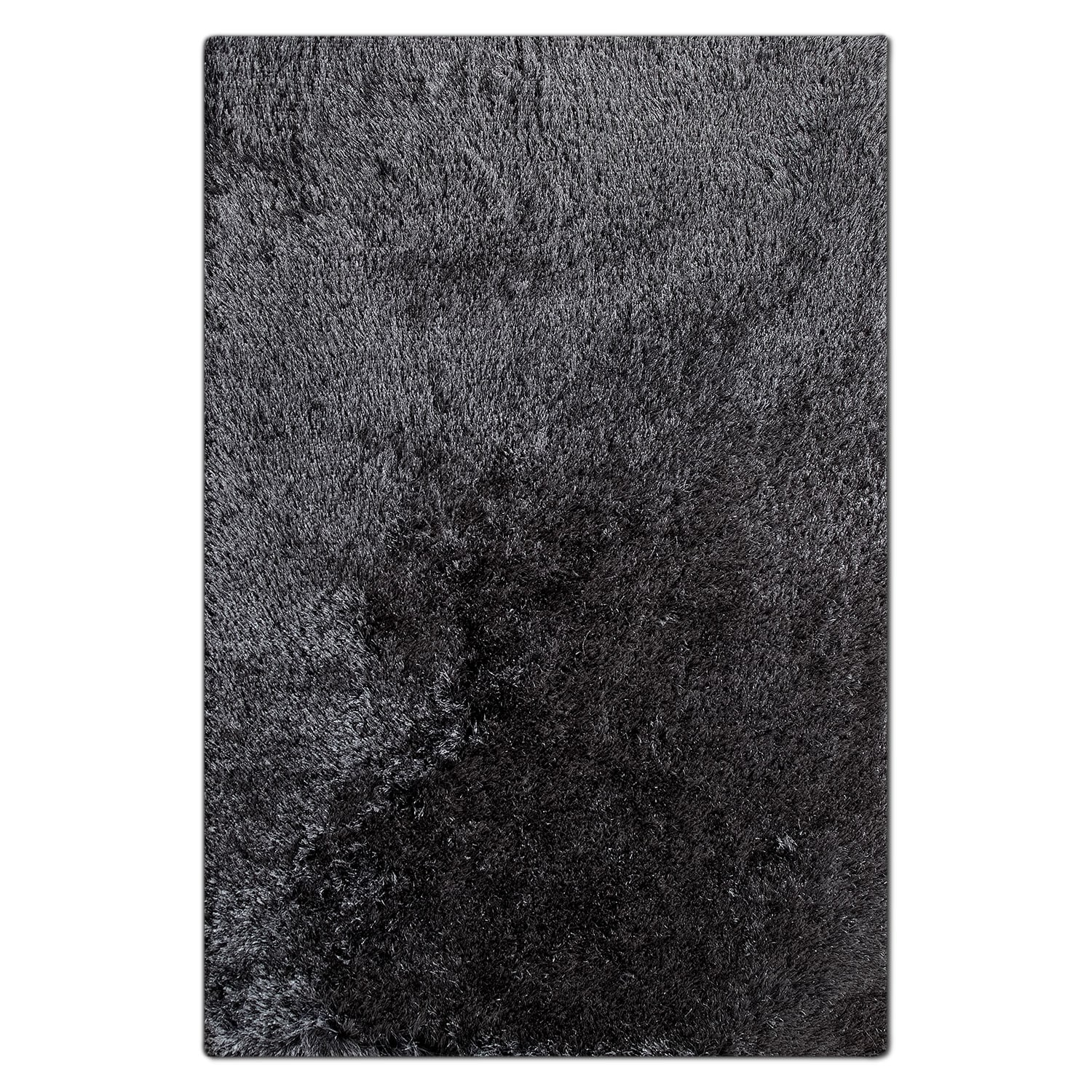Luxe 5' x 8' Area Rug - Charcoal
