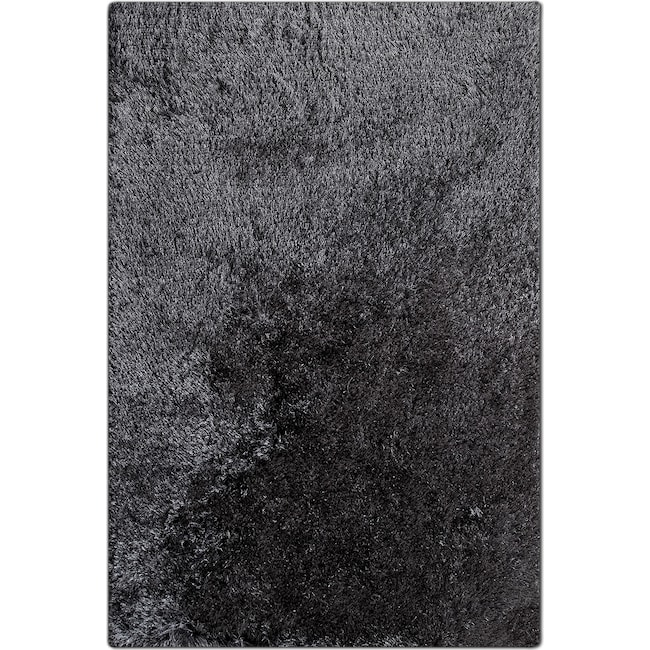 Rugs - Luxe 8' x 10' Area Rug - Charcoal
