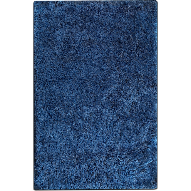 Rugs - Luxe 5' x 8' Area Rug - Sapphire