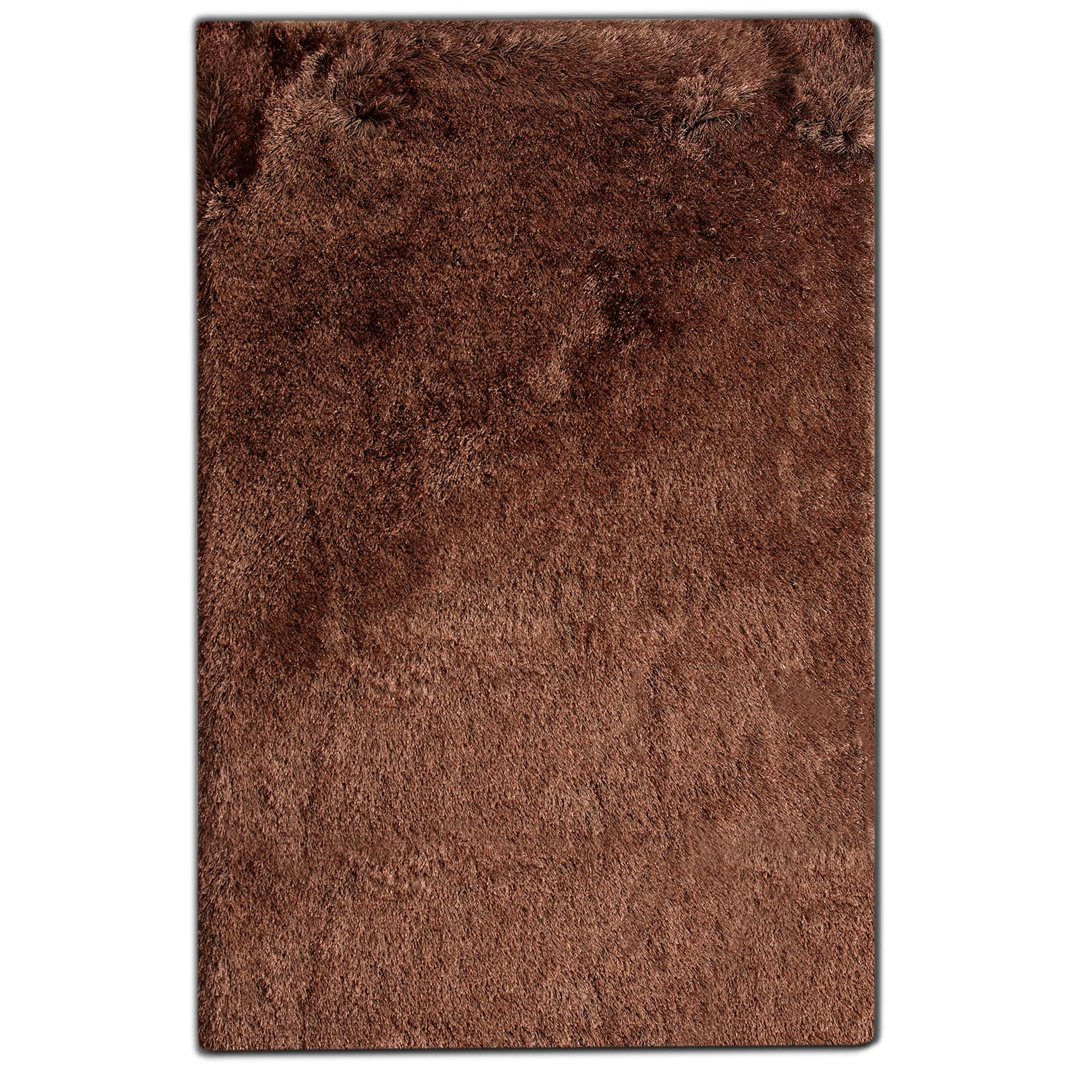 Luxe 5' x 8' Area Rug - Chocolate