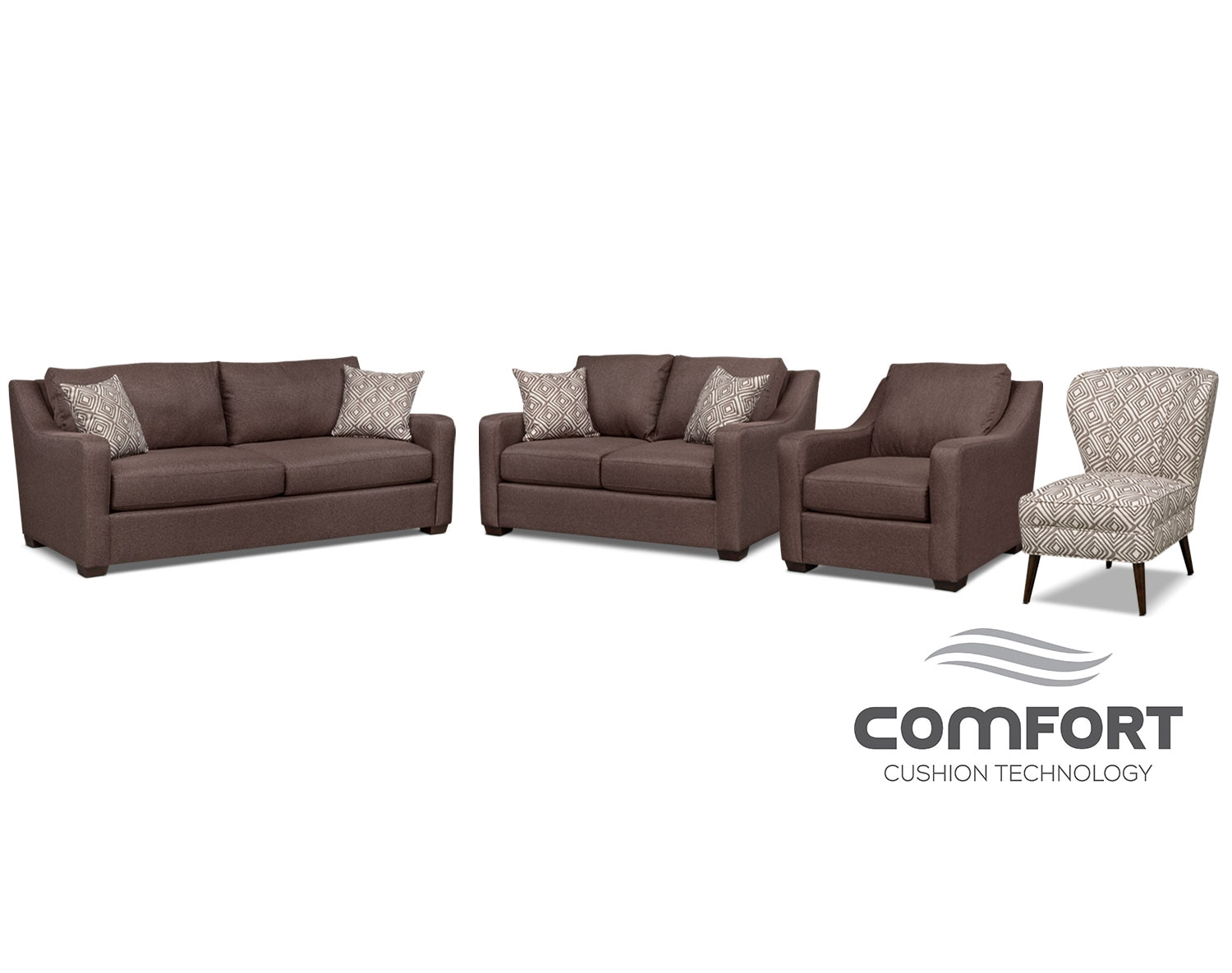 The Jules Comfort Collection - Brown
