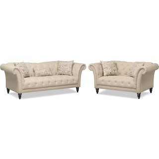 Marisol Sofa and Loveseat
