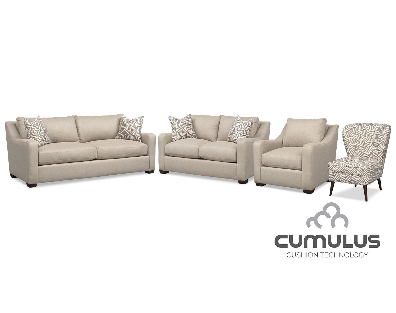The Jules Cumulus Collection - Cream