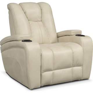 Pulsar Power Recliner - Cream
