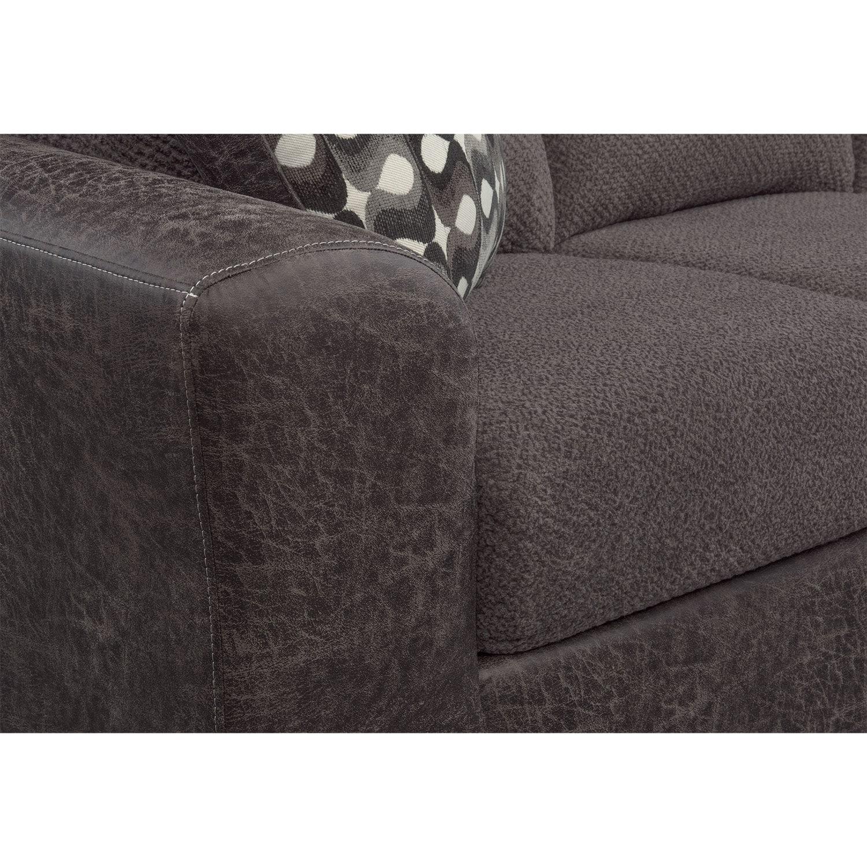 Brando Sofa With Chaise American Signature Furniture