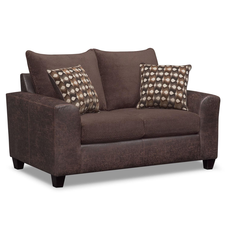 Living Room Furniture - Brando Loveseat