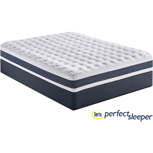 Mattresses and Bedding - Strathfield Firm Twin XL Mattress and Foundation Set