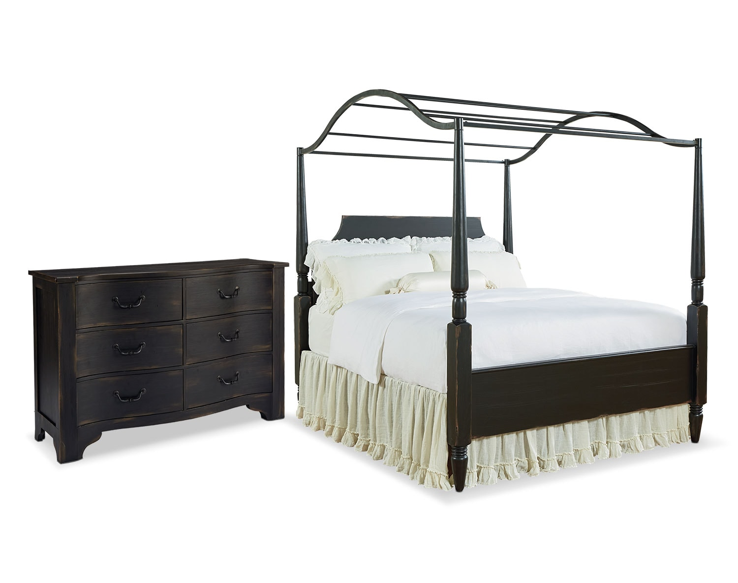 The Farmhouse Carriage Canopy Bedroom Collection