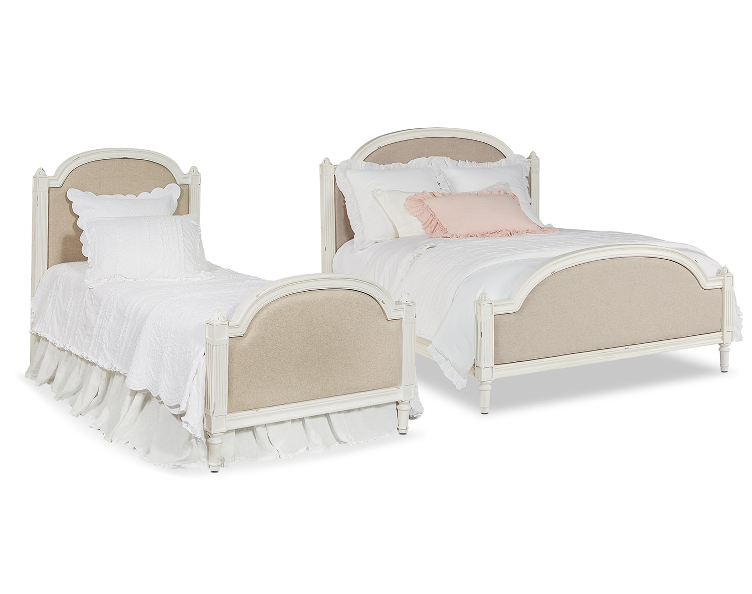 The French-Inspired Sisters Bedroom Collection