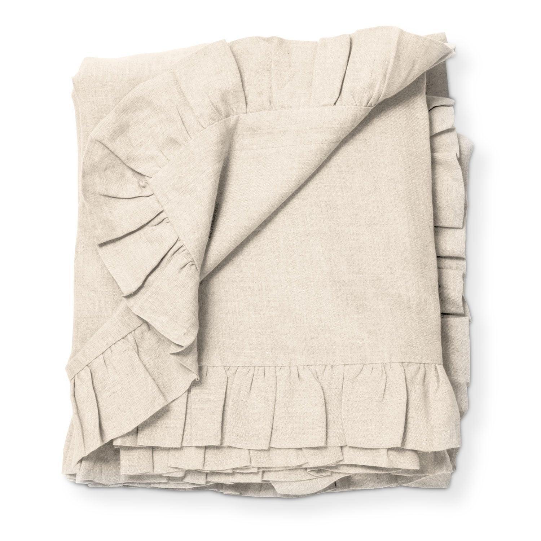 Basillo Queen Duvet Cover - Ivory