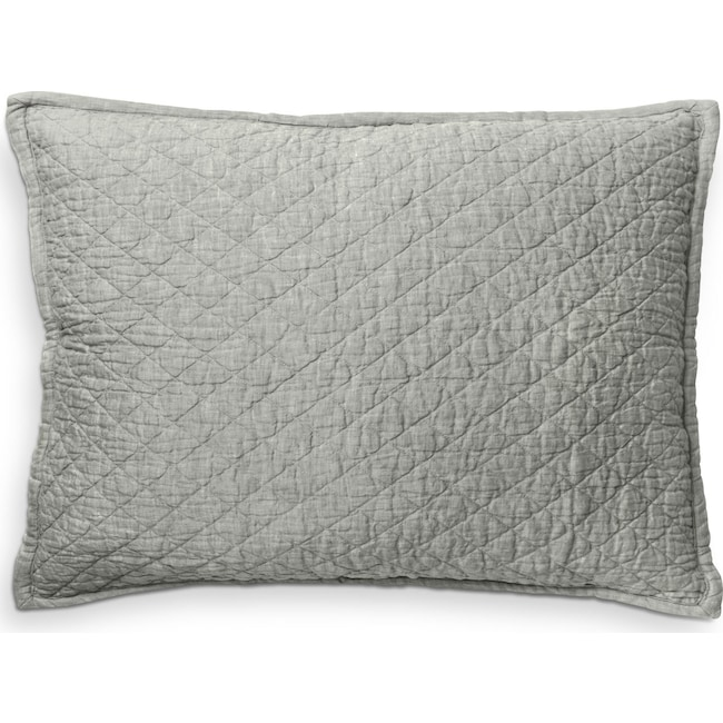 Accent and Occasional Furniture - Dale Standard Sham - Seaglass