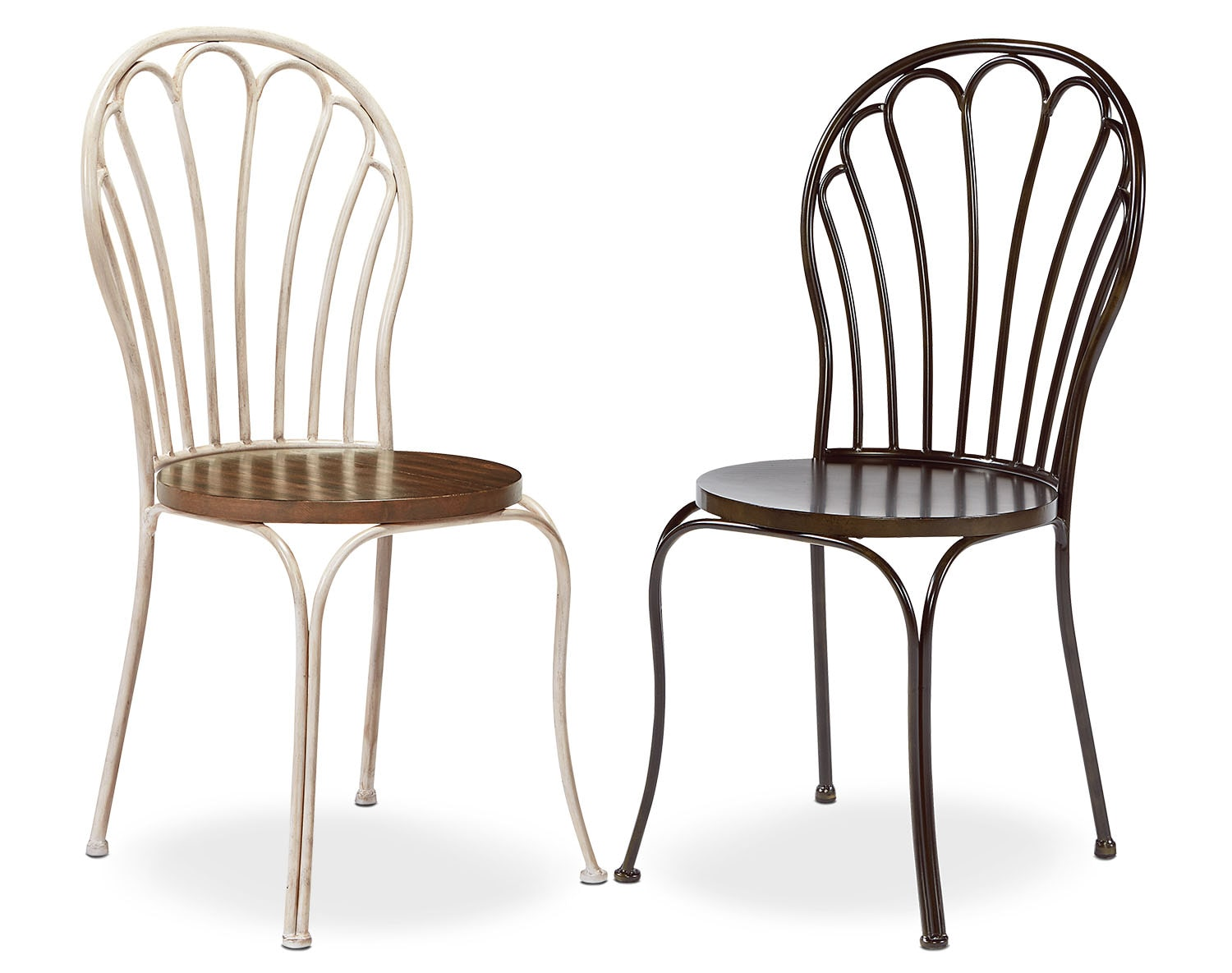 The Peacock Metal Chair Collection
