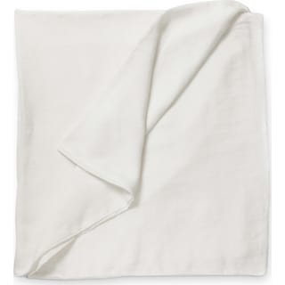 Damara King Duvet - White
