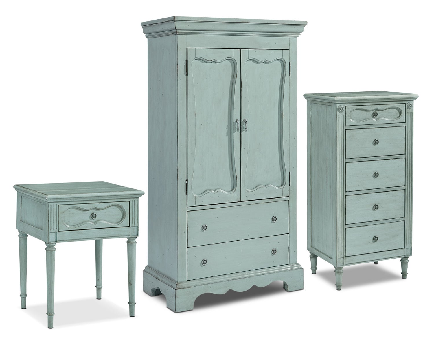 The Cameo Bedroom Collection - French Blue