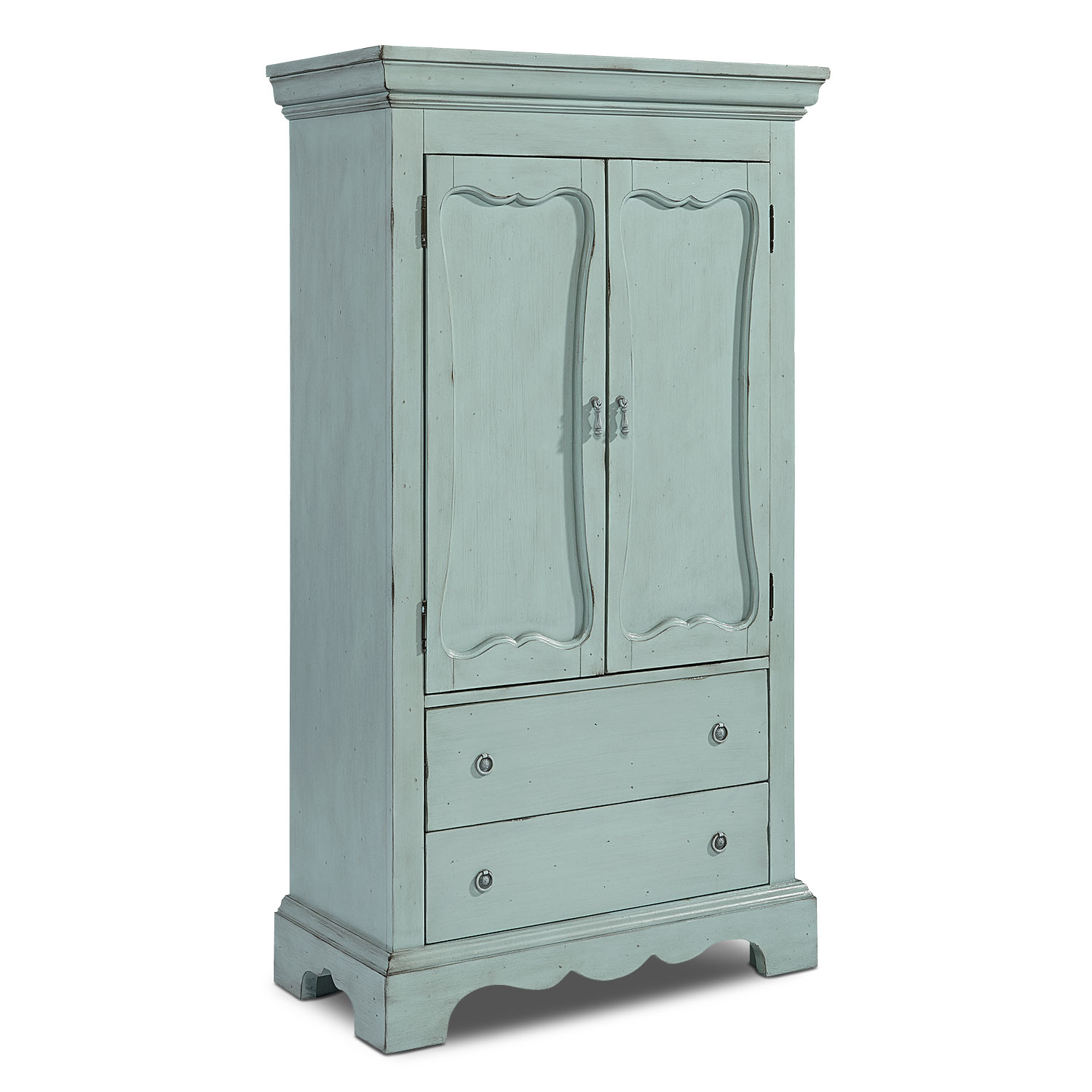 Cameo Armoire - French Blue