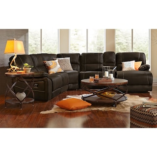 The Wyoming Collection   Saddle Brown. Search Results   American Signature Furniture