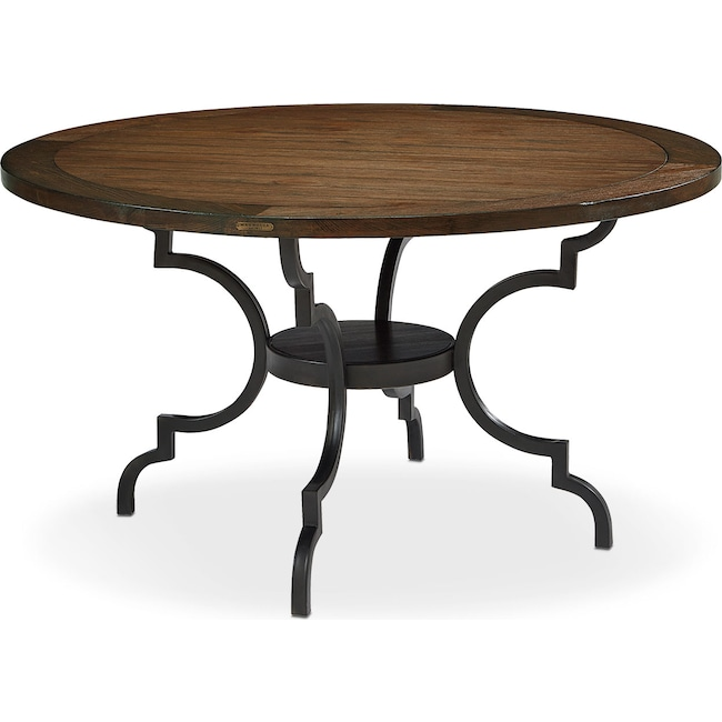 Dining Room Furniture - French Inspired Breakfast Dining Table - Black
