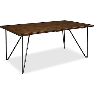 8' Boho Hairpin Dining Table