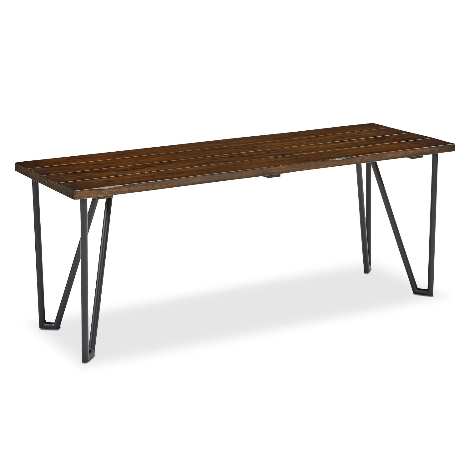 "Dining Room Furniture - 70"" Boho Hairpin Bench"
