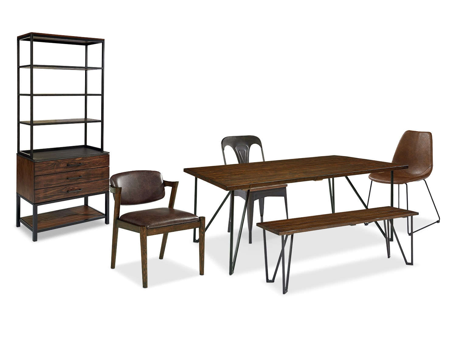 The Boho Dining Room Collection