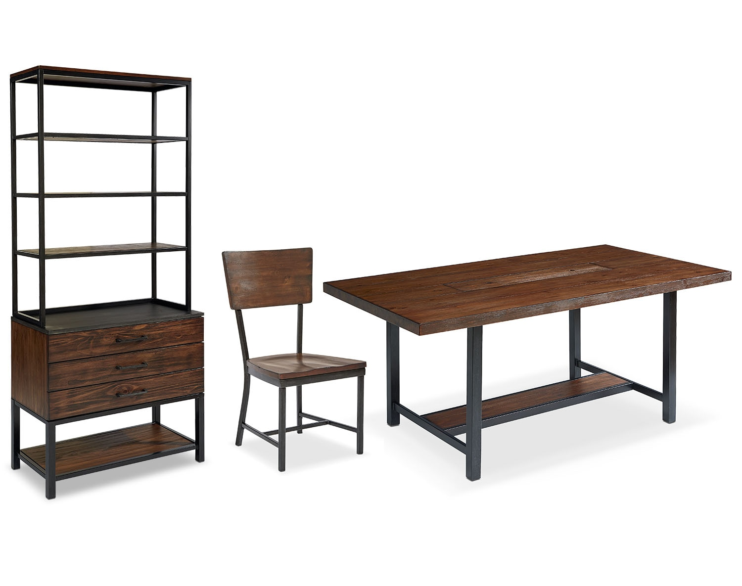 The Industrial Framework Dining Room Collection - Milk Crate