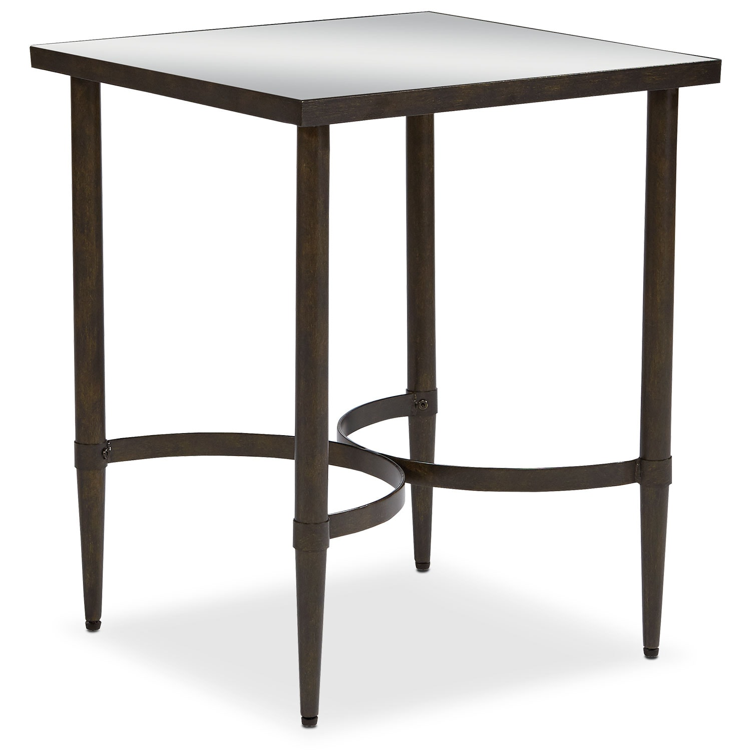 Accent and Occasional Furniture - Mercury End Table - Blackened Bronze