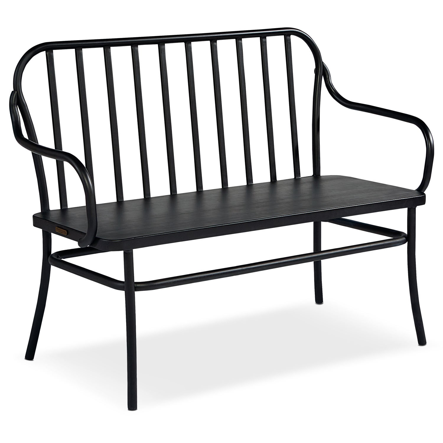 Accent and Occasional Furniture - Park Bench - Blackened Bronze