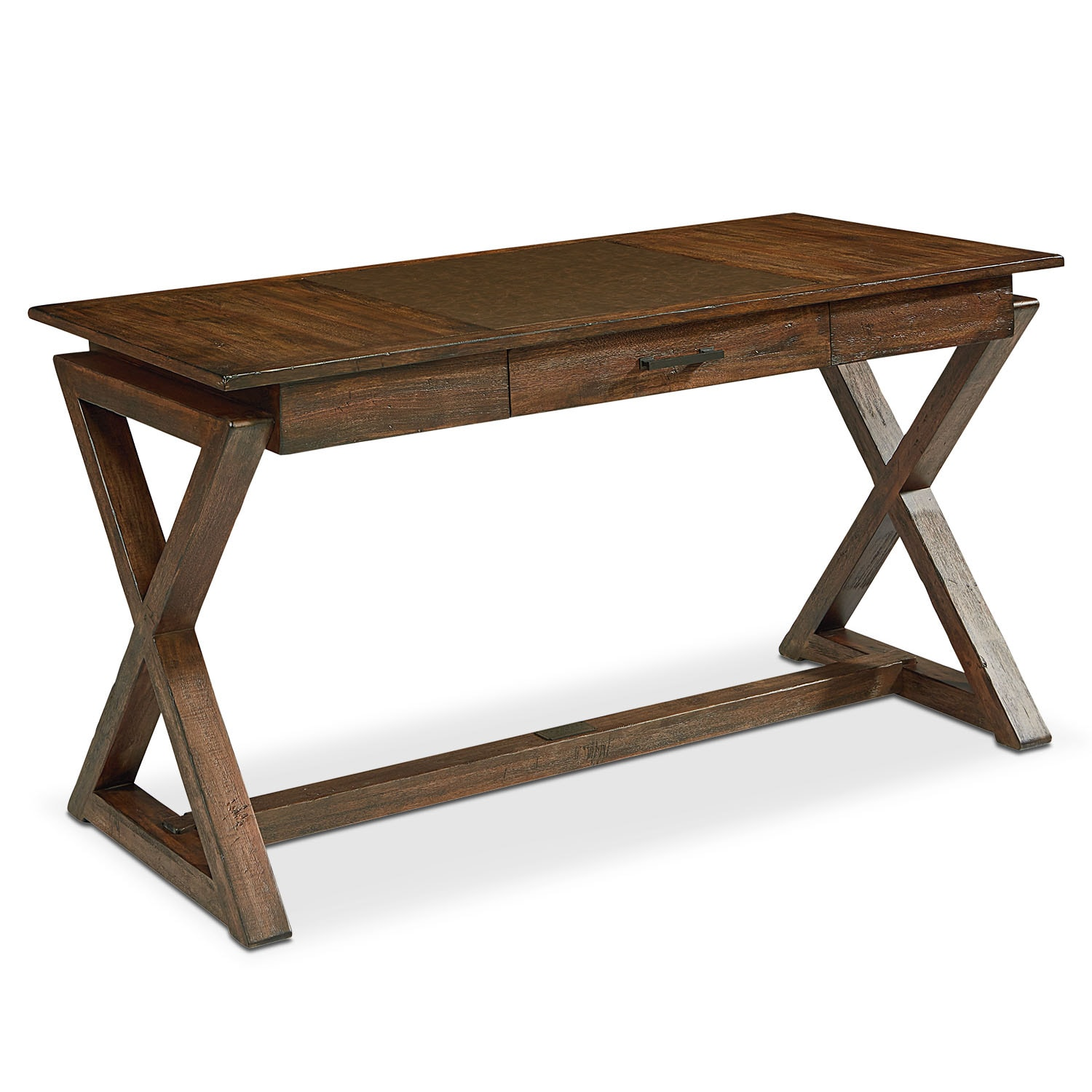 Sawbuck Desk - Barn Door