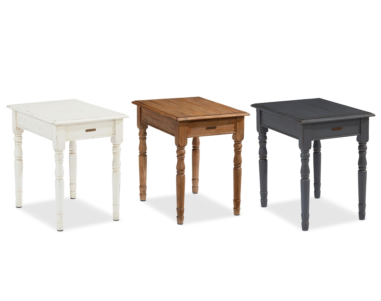 End tables living room tables american signature furniture for Living room side tables