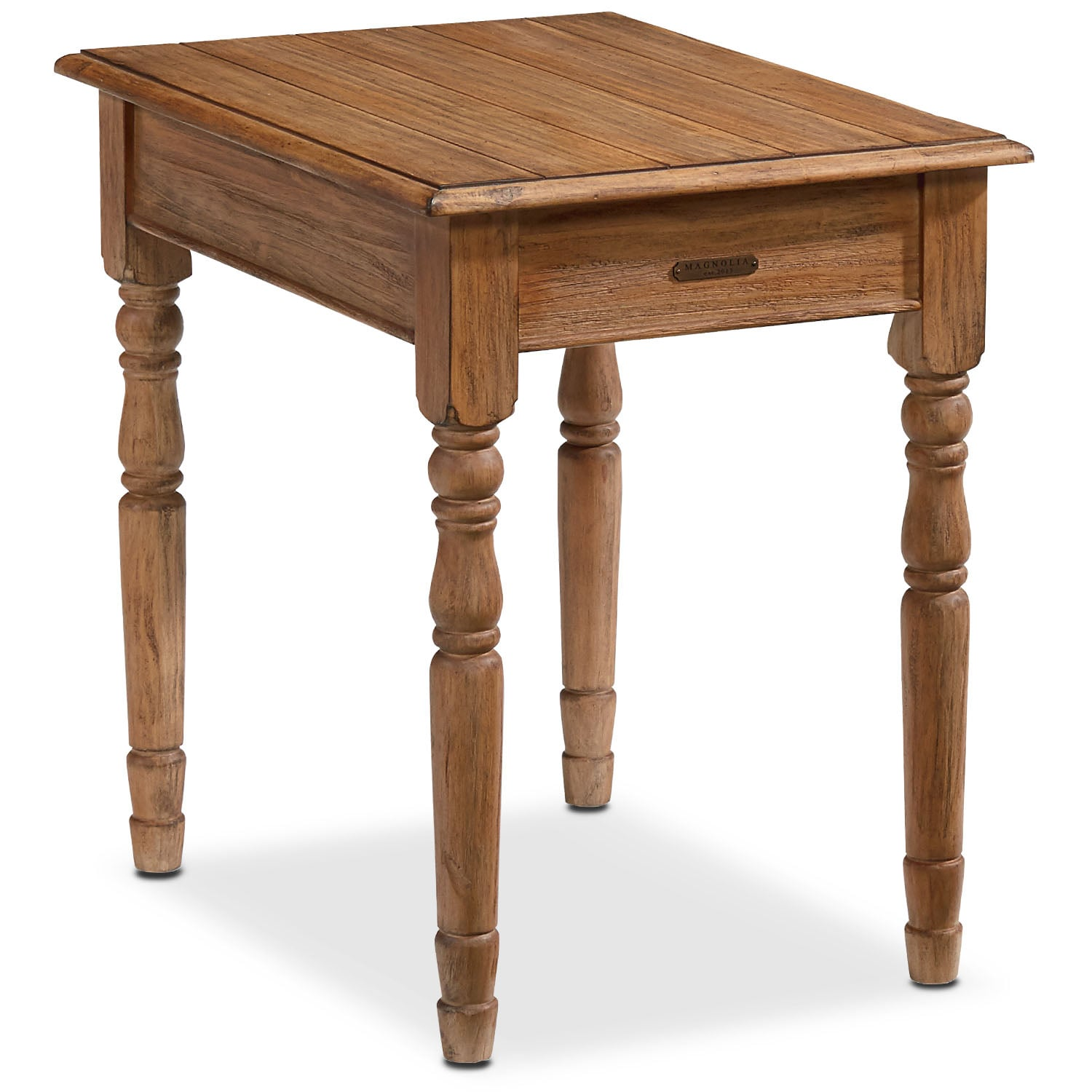 Accent and Occasional Furniture - Taper Turned End Table - Bench