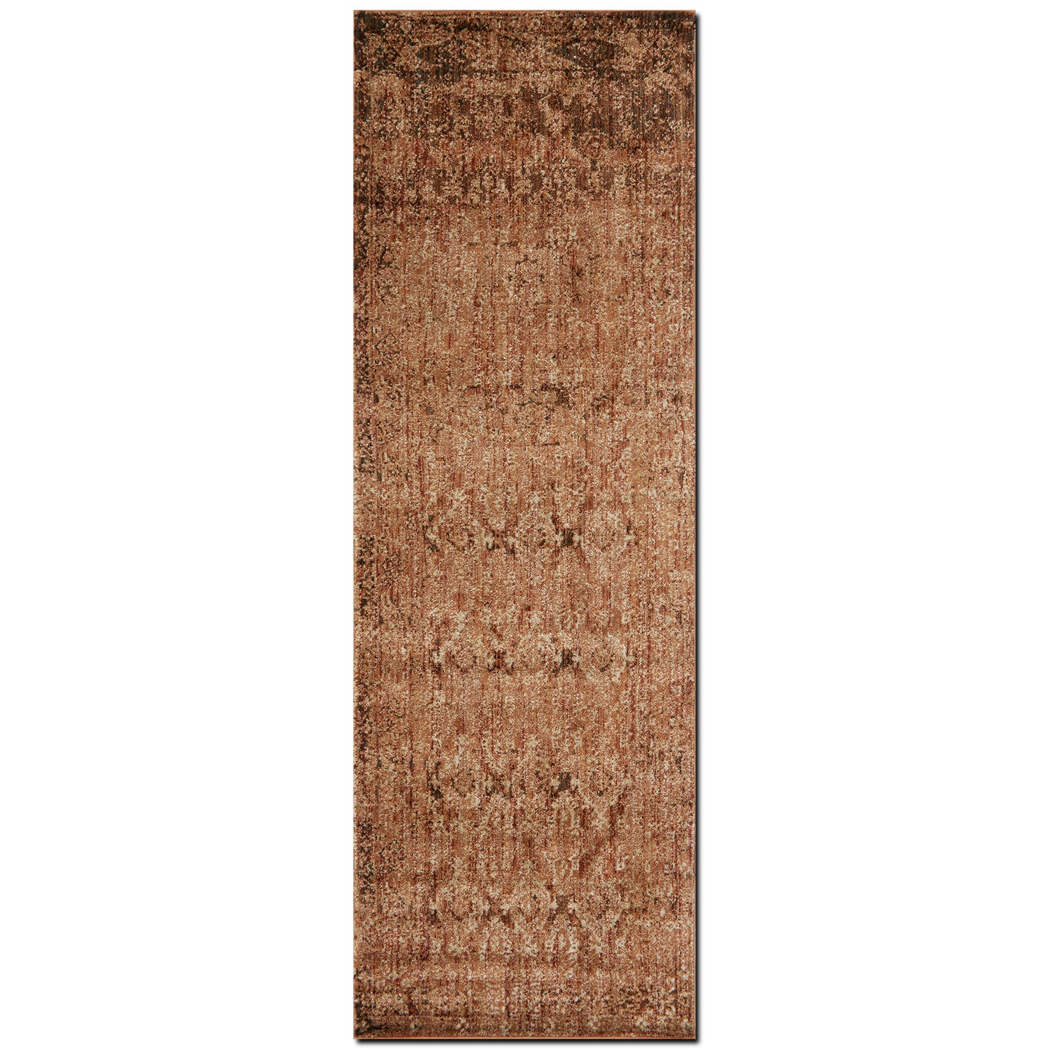 Kivi 3' x 10' Rug - Sand and Copper