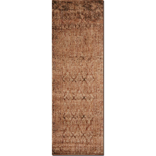 Rugs - Kivi 3' x 8' Rug - Sand and Copper
