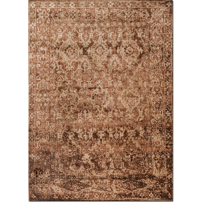 Rugs - Kivi 10' x 13' Rug - Sand and Copper