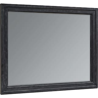Foundry Wall Mirror - Blackened Bronze