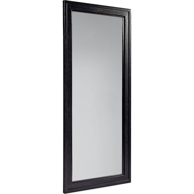 Home Accessories - Short Foundry Mirror - Blackened Bronze